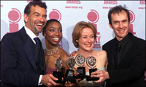 The top four winners at the 2000 Tonys
