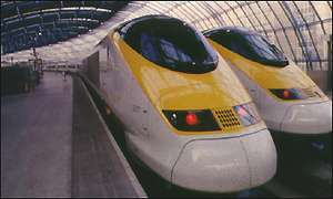 Eurostar Channel Tunnel train
