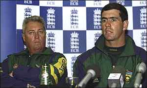 Bob Woolmer and Hansie Cronje