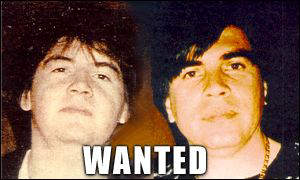 FBI 'wanted' poster showing the Arellano Felix brothers