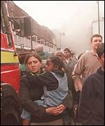 Aftermath of the Brick Lane bomb