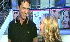 Madonna and co-star Rupert Everett