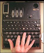 Enigma codebreaker at Bletchley Park Wartime Intelligence Centre