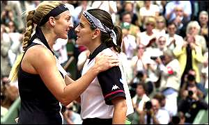 Mary Pierce and Conchita Martinez