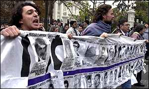 Anti-Pinochet demonstration