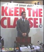 Keep the Clause campaigners