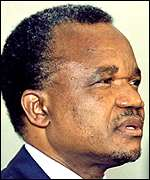 President Chiluba of Zambia