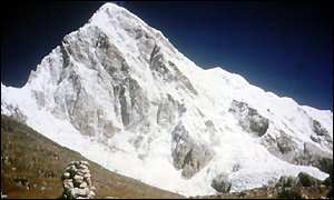 Mount Everest west face