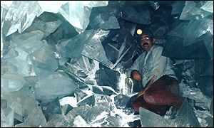 bbc news sci tech giant crystal cave discovered