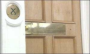 SNP door Edinburgh