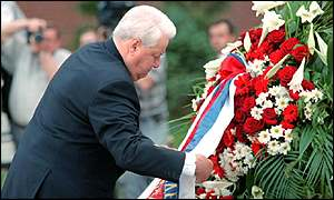 boris yeltsin and memorial