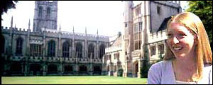 Laura Spence and Magdalen College
