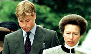 Prince William and Princess Anne