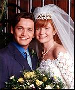 Patsy Palmer and Sid Owen