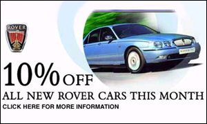 Rover's website