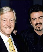 Michael Parkinson and George Michael