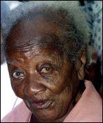 Maria do Carmo Jeronimo, former Brazilian slave