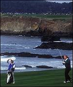 Jack Nicklaus at Pebble Beach