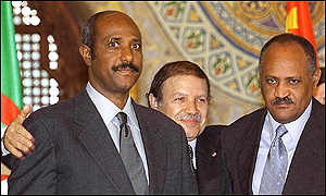 The Ethiopian and Eritrean foreign ministers
