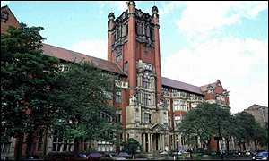 Newcastle University admin block