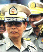 Intelligence chief Khin Nyunt