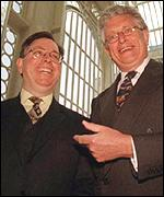 Michael Kaiser and Sir Colin Southgate