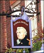 The Admiral Duncan pub in London