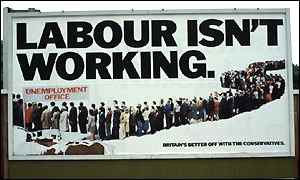 Labour isn't working poster