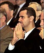 Bashar at Ba'ath Party congress