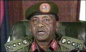 image: [ Abacha: determined to hang on to power ]