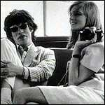 [ image: Mick Jagger and Linda]
