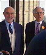 [ image: Sean Connery rubbing shoulders with Donald Dewar in the run up to the referendum]