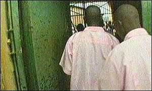 image: [ More than 125,000 people are awaiting trial in Rwanda's crowded prisons ]