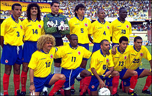 The Colombia Squad
