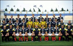 image: [ The Scottish team ]