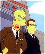 Rupert Murdoch in The Simpsons