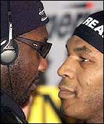 Mike Tyson and Julius Francis