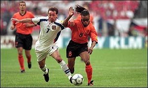 Jiri Nemec and Edgar Davids
