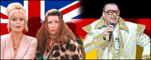 The UK's AbFab and Germany's Stefan Raab