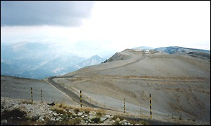 Mont Ventoux, shot from the summit