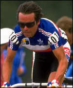 Beranrd Hinault in French national colours