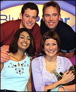 The 2000 Blue Peter team