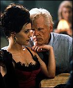 Nick Nolte and Brittany Murphy
