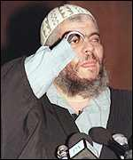 Abu Hamza, the notorious one-eyed hook-handed Muslim cleric from Egypt who has lived in Britain off welfare for 17 years