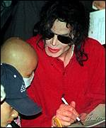 Michael Jackson in Seoul, June 1999