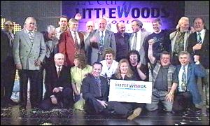 Littlewoods winners celebrate