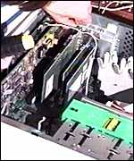 Ethernet card BBC