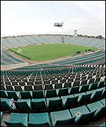 The FNB stadium will eventually hold more than 110,000 people