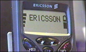 ericsson phone close up