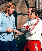 Gunter Netzer and Uwe Seeler